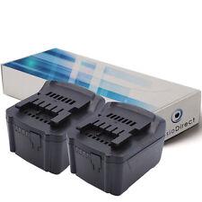 Lot de 2 batteries 14.4V 3000mAh pour Metabo SSW 14.4 LT 6.02126.50