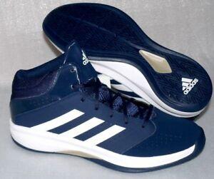 Details zu Adidas D69484 Isolation 2 Freizeit Schuhe Basketball Running Sneaker 47 Navy Wei