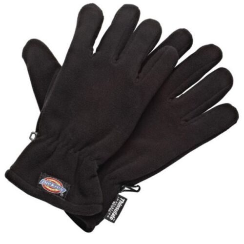 Dickies GL8999 Lightweight Thinsulate Thermal Winter Work Gloves Black Free Post