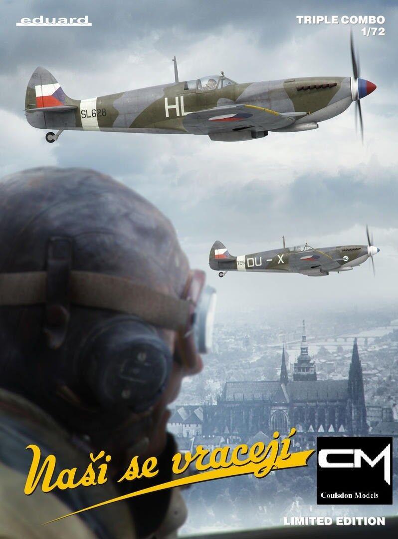 Eduard 2120  72 Spitfire Mk.IX, Ltd Ed, Pro -Level, Triple Combo 30 Marking opt