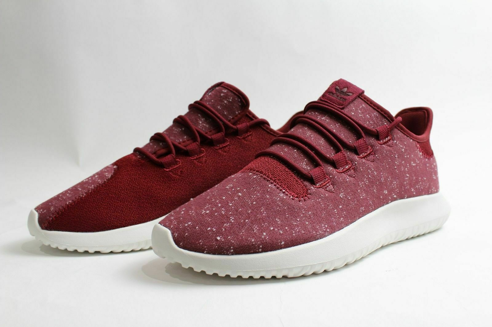 Adidas  BY3571 Men Originals Tubular Shadow Burgundy White Casual shoes Size 9.5