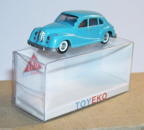 MICRO TOY EKO TOYEKO HO 1/86 1/87 MADE IN SPAIN BMW 501 REF 2002 & 6002 IN BOX