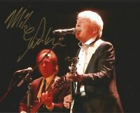 A 10 x 8 inch photo personally signed by singer Mike Pender.