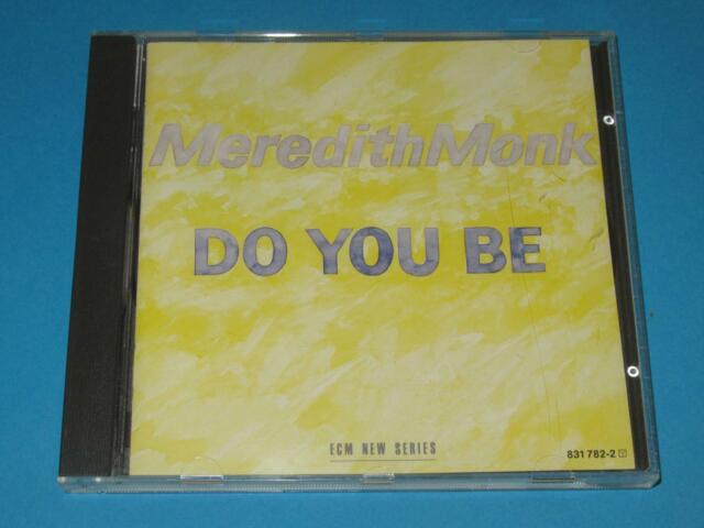 Meredith Monk / Do You Be (GER 1987, ECM  1336, 831 782-2) - CD