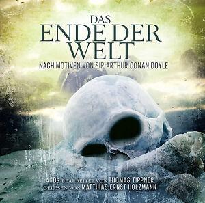 Hoerbuch-CD-Das-Ende-Der-Welt-von-Sir-Arthur-Conan-Doyle-4CDs