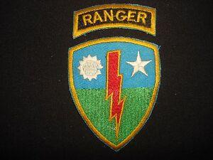 2 Guerre Du Vietnam Correctifs - Ranger + 75ème Infanterie Régiment yrpSTJ1j-09094358-245885396