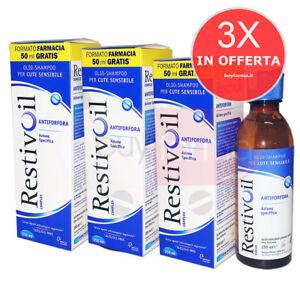Offerta-Restivoil-Complex-3X-Olio-Shampoo-Antiforfora-Cute-Sensibile-da-250ml