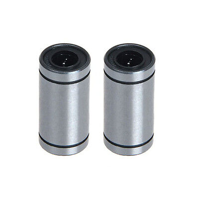 2pcs NEW LM8UU 8mm Linear Bearings Motion ball bearings for RepRap 3D printer