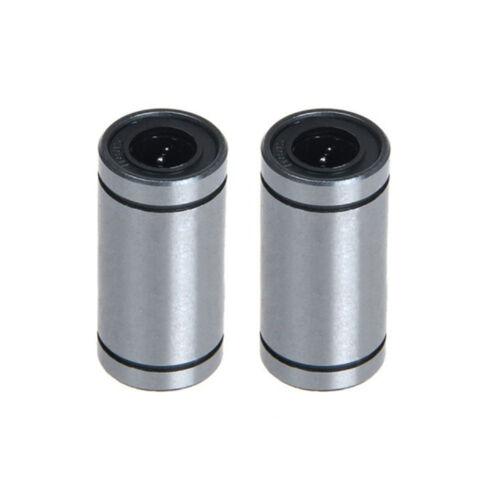 2pcs LM8LUU Linear ball bearings 8mm linear shaft for RepRap Prusa 3D Printer