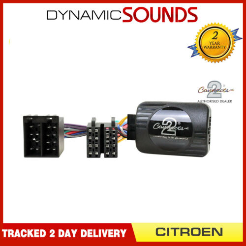 CTSCT002 Estéreo Pioneer Control Adaptador de Dirección para Citroën C2,C3,C5