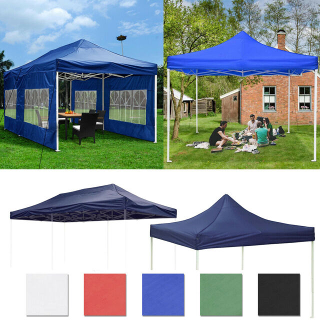 10x20Ft Outdoor EZ Pop Up Canopy Folding Wedding Party Tent