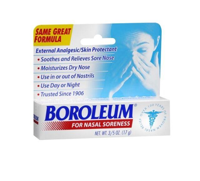 2 Pack - Boroleum Analgesic Ointment 0.60 oz Each 2 Pack - Herbacin Kamille Lip Balm 0.17 oz