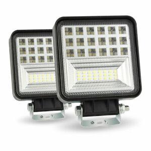 Fog-Light-400W-6000K-LED-Work-Light-Bar-Flood-Spot-Beam-Offroad-SUV-Driving-Lamp
