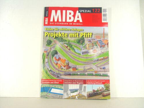 mittlere Anlagen kleine u Projekte mit Pfiff Miba Spezial Heft 122