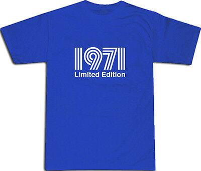 1971 Limited Edition Cool T-shirt S-xxl # Blu-mostra Il Titolo Originale