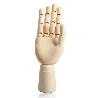 Wooden Right Hand Body Artist Model Jointed Articulated Sculpture Mannequin GIFT