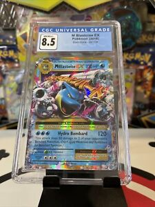 Pokemon XY Evolutions M Blastoise EX 22/108 CGC 8.5 / 9 (PSA)
