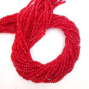Trillion Shape Loose Stones Faceted Gemstone DIY Finding Supplies Red Hydro Quartz 15 mm Trillion Shape Red Hydro Quartz Gemstone