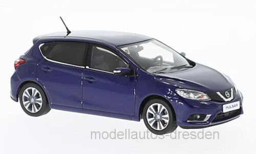 PremiumX prxd533j Nissan Pulsar 2015 bluee Scale 1 43 MODEL CAR NEW  °