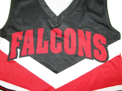 """XL 24-30/"""" Tops Child Youth FALCONS Cheerleader Uniform Choose Size Small"""