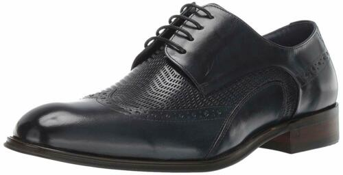 Stacy Adams Men/'S Maguire Wing-Tip Lace-Up Oxford Navy M