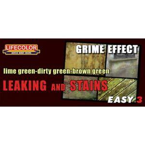 Lifecolor-MS11-Leaking-Stains-Easy-3-Acrylfarbe-3x22-ml-100ml-13-64-gruen