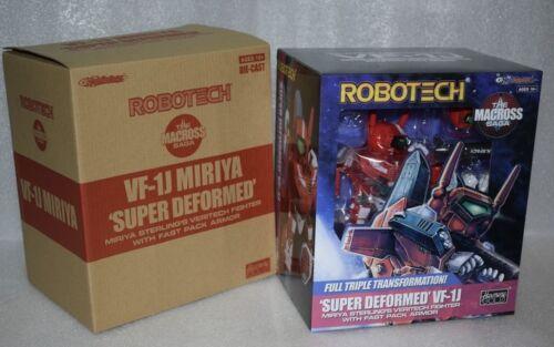 Special Offer New KitzConcept Robotech SD VF-1S Roy Focker VF-1J Figure In Sock