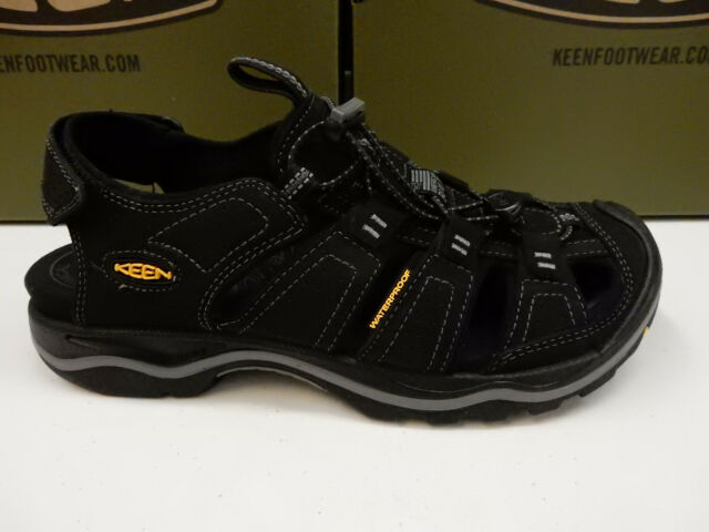 ea83d9d9788 Buy KEEN Mens Rialto Sandals 1014676 Black/gargoyle Size 9 online | eBay