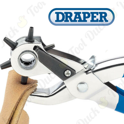 HIGH QUALITY DRAPER 6 Pin Punch Plier 200mm Long 2.5-4.5mm 0.4mm Increments