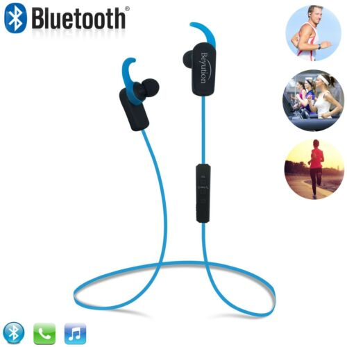 Wireless Headset Bluetooth Stereo Headphones for Cell Phone Laptop Tablet-Red