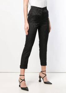 Authentic-Roberto-Cavalli-Black-Brocade-Cigarette-Trousers-6-Italy-Netaporter
