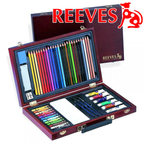 water Reeves Superior Maxi Colour Art Box Set pencil craft school collage gift