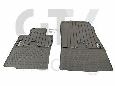 New Genuine Mini Cooper Countryman R60 Front Black Rubber Floor Mats 2243920