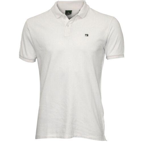 blanc Scotch /& Soda en Piqué Classique Homme Polo Shirt