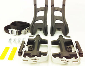 Wellgo-Dual-Purpose-Toe-Clip-Bicycle-Pedals-Flat-pedals-with-Toeclips-and-Straps