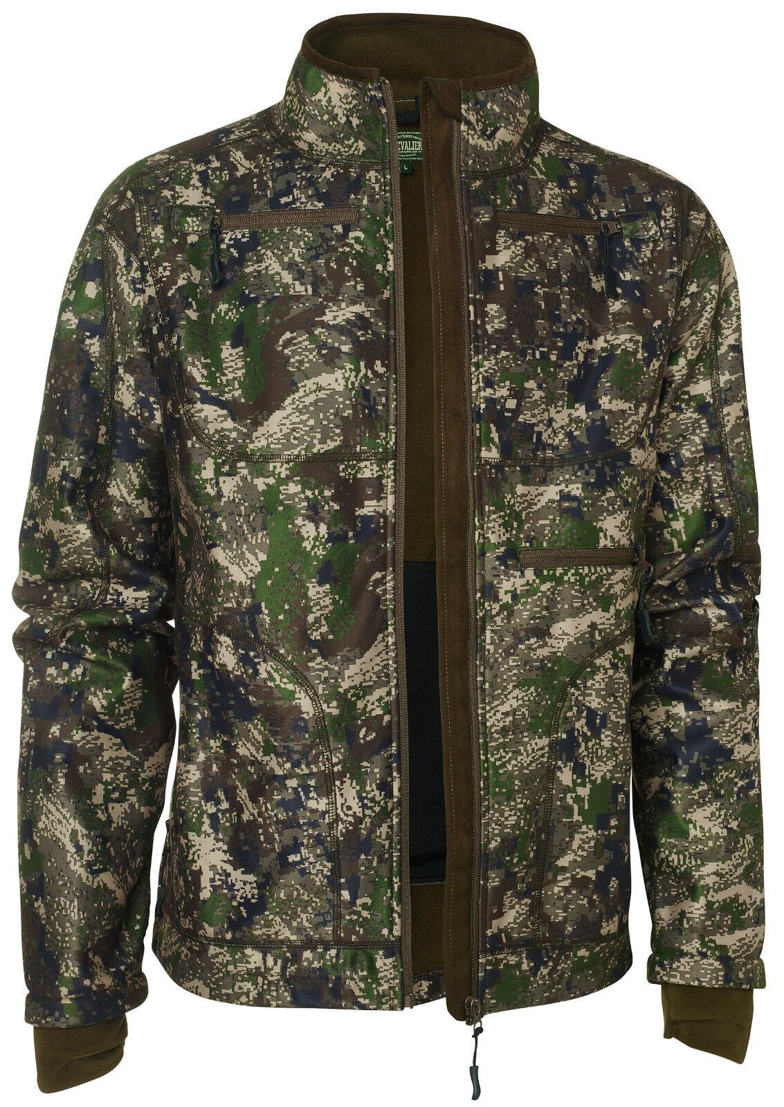 Chevalier-píxeles camo windblocker coat-chaqueta camu. - chaqueta