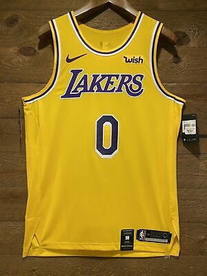 Kyle Kuzma Authentic Nike Lakers Icon Edition Jersey NWT. With