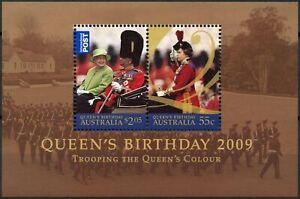 Australie 2009 Sg#ms3187 Qeii Queens Anniversaire Neuf Sans Charnière M/s #d86799-afficher Le Titre D'origine