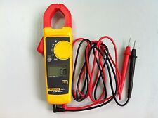 New!!! Fluke 302+ F302+ Digital Clamp Meter AC/DC Multimeter Tester w/ Case
