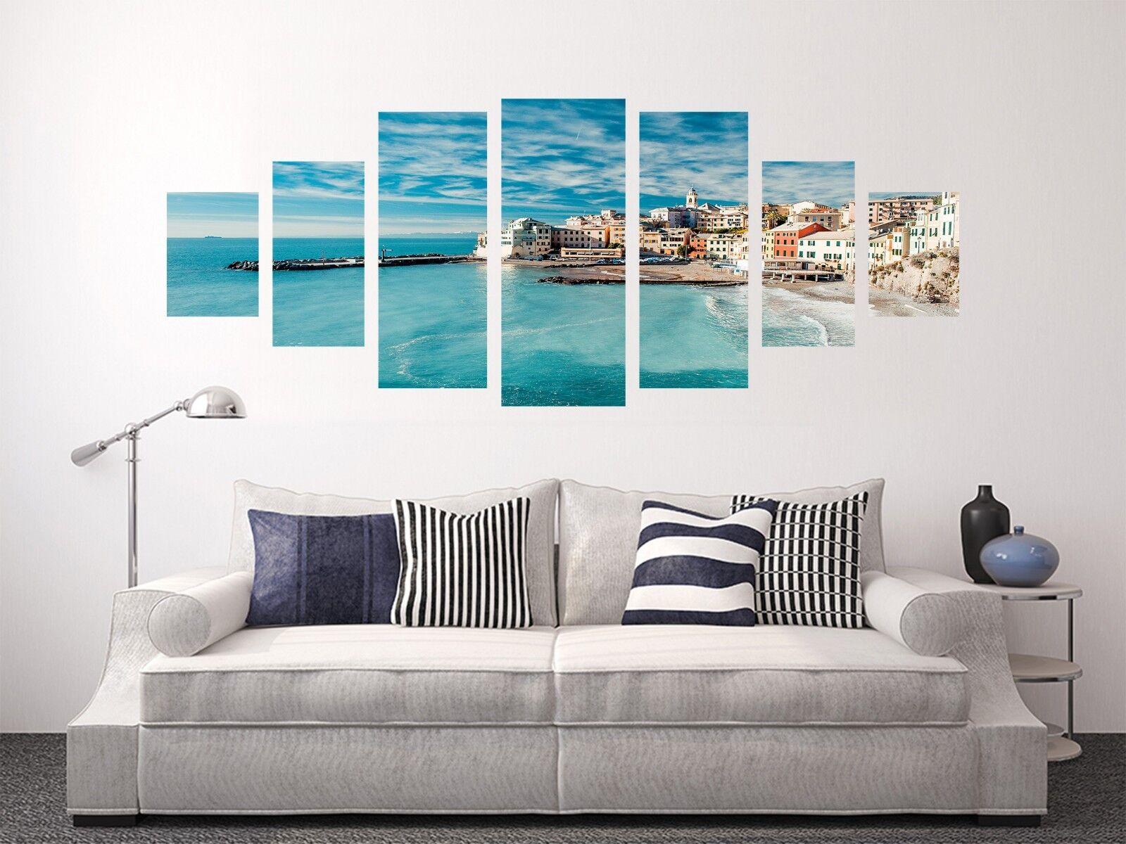 3D Blau Harbor 578 Unframed Print Wall Paper Decal Wall Deco Indoor AJ Wall