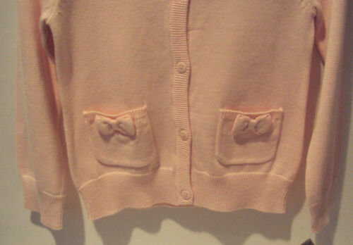 Toddler Girls Sonoma Life /& Style Pink Sweater Bows Tiny Pockets Size 2T 3T 4T