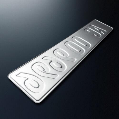 2x Kfz-Kennzeichen430 x 110 mmNummerschildAutoschildDHL-Versand