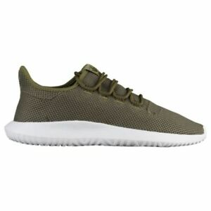 Adidas Originals Tubular Shadow Knit Olive Cargo Green and White AC7014 Size