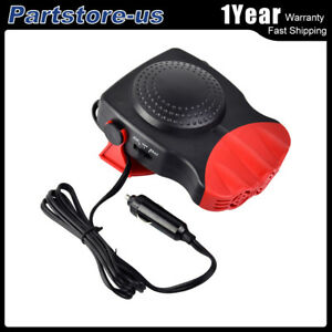 12v 2in1 car heater truck auto hot cool fan windscreen windowimage is loading 12v 2in1 car heater truck auto hot cool