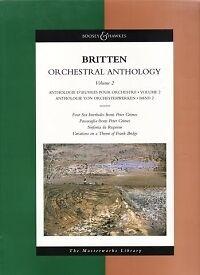 Intelligent Britten Orchestral Anthologie Vol 2 Masterwks Lib-afficher Le Titre D'origine ModéLisation Durable