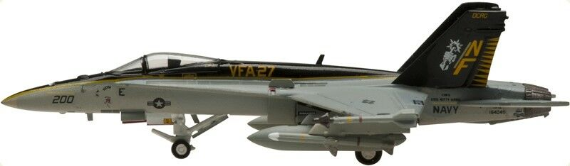 Hogan wings 7891 us navy f a-18b d vfa-27 f a-18c scale 1 200 M-series-NEUF
