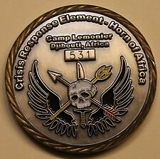 Joint Special Operations Task Force Crisis Response Element HOA Challenge Coin