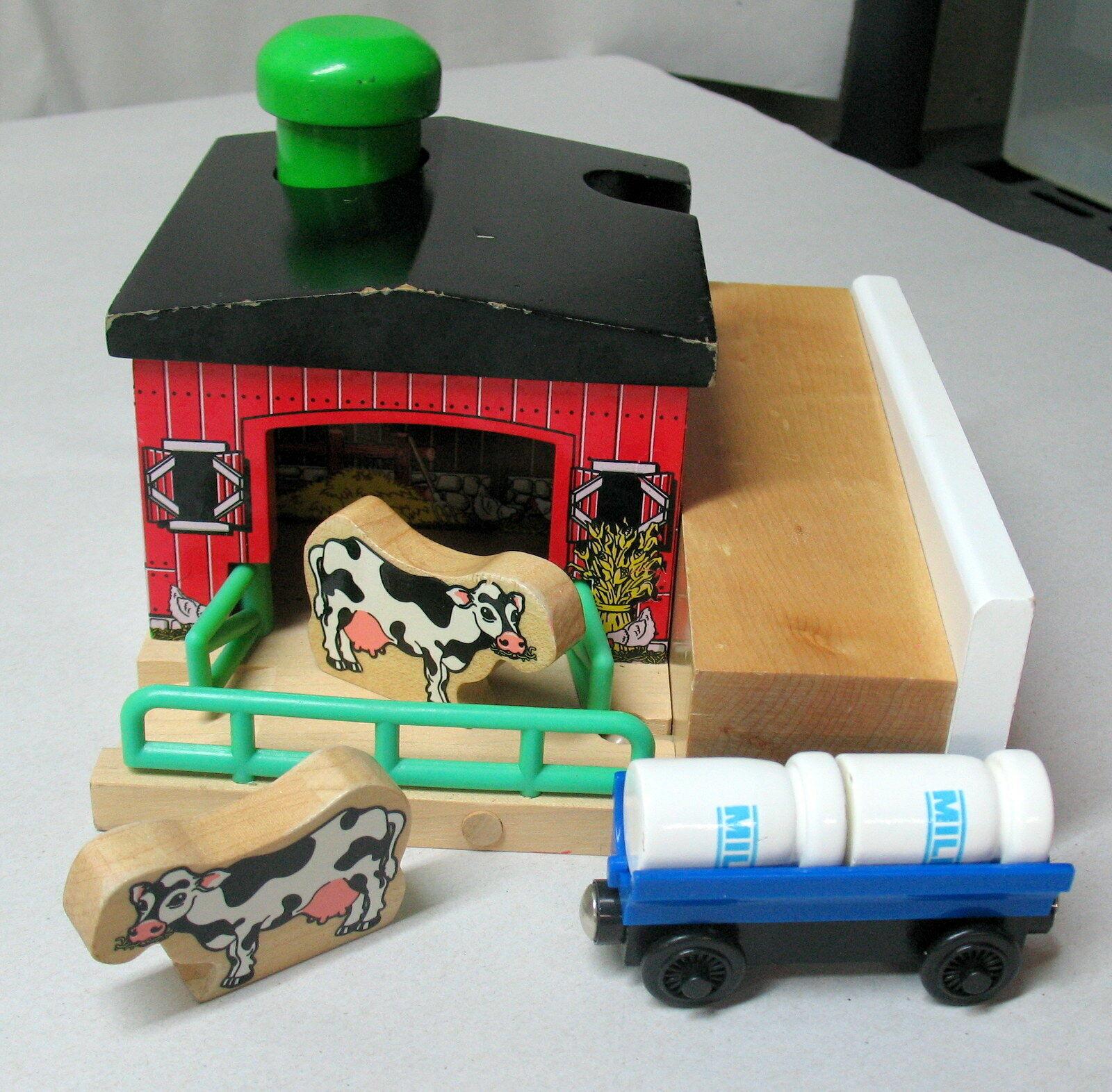 SODOR DAIRY FARM, Thomas & Friends, Wooden Railway, 2001, Complete Set