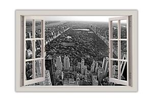Black-and-White-Central-Park-New-York-City-Window-View-Poster-Print-Wall-Art