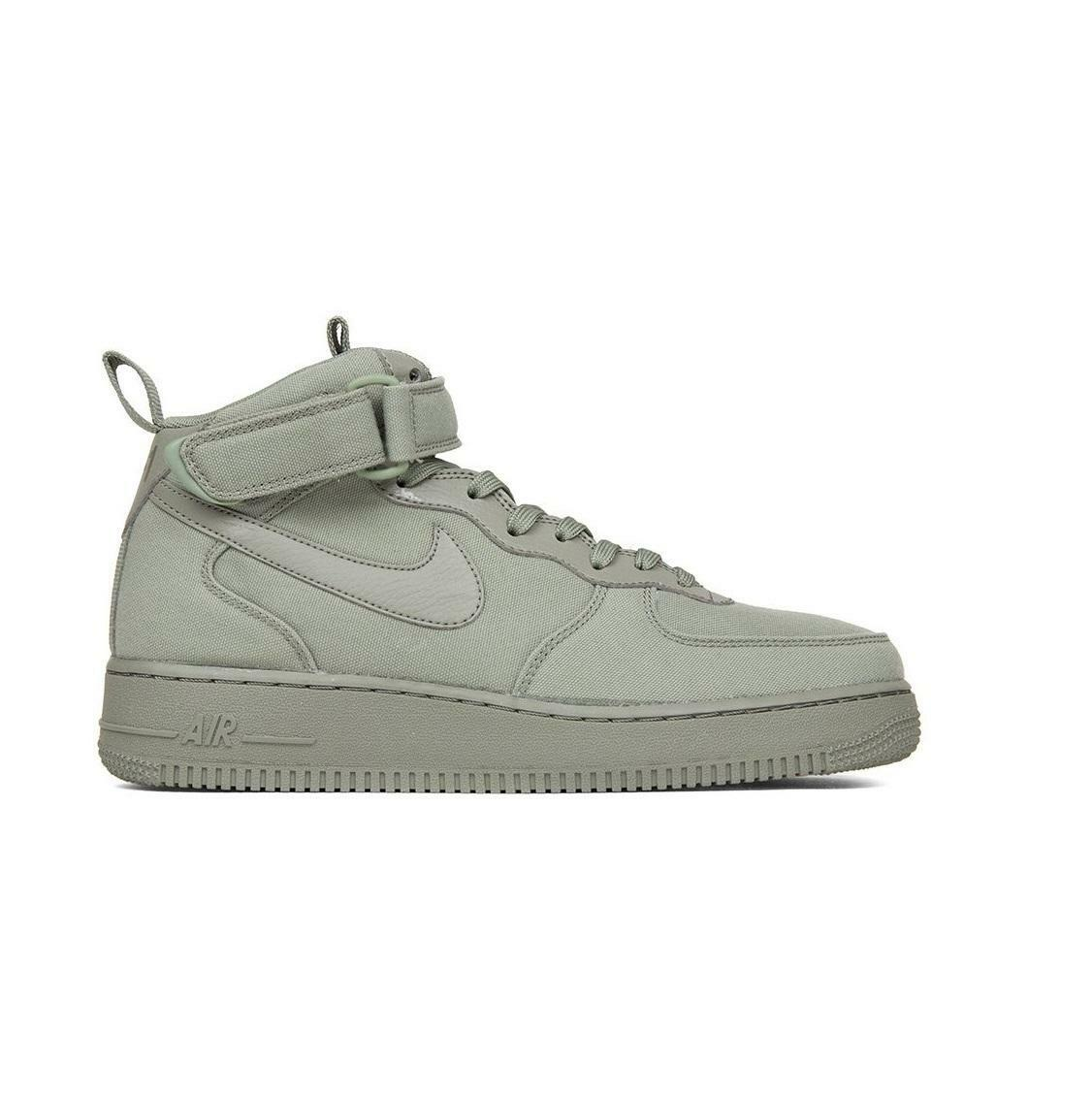 Mens NIKE AIR FORCE 1 MID 07 CANVAS Trainers AH6770 001